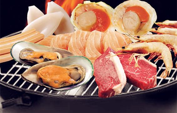 Set G -- PKFROZ BBQ Seafood Set
